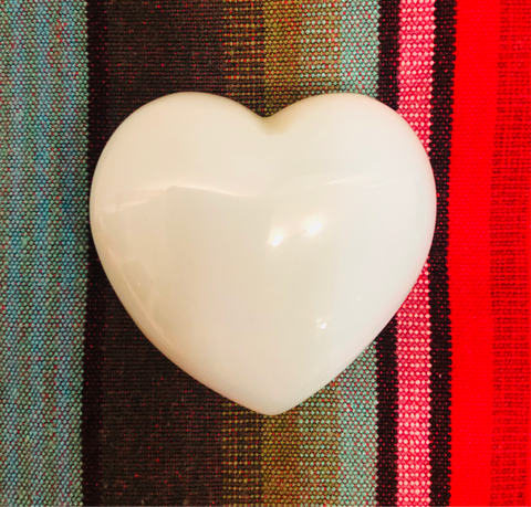 Activated stone - Opalite heart