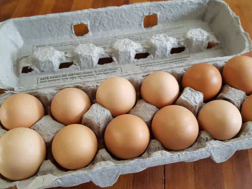 Pasture-Raised Chicken Eggs