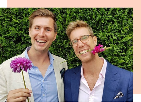 Alec and Stefan, founders of Floraly