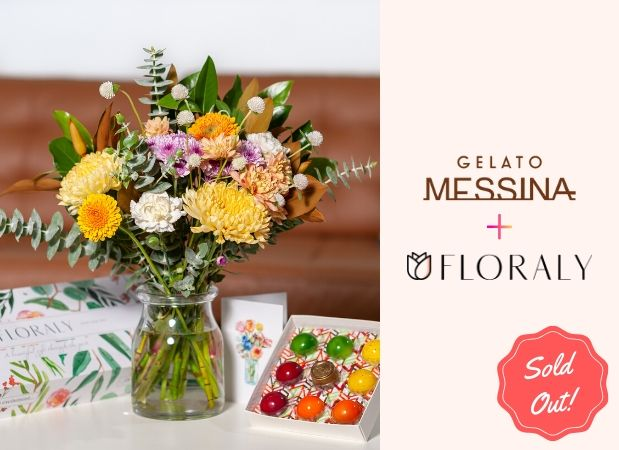 floraly flowers with messina bon bon chocolates