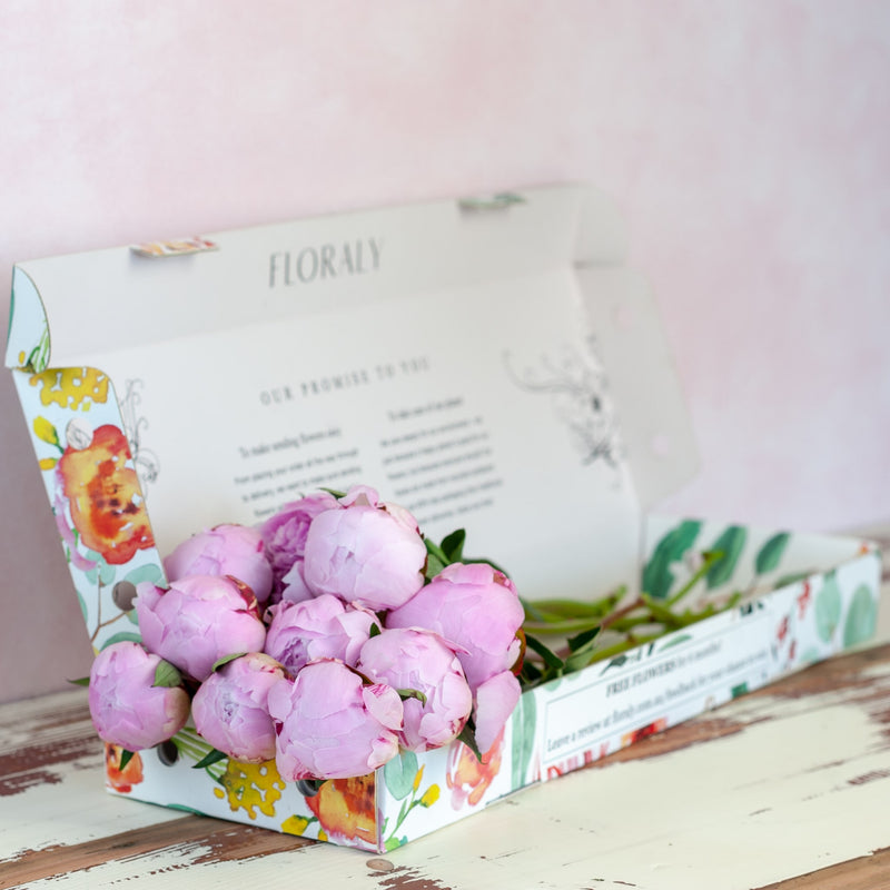 Pink Peonies - Floraly Australia