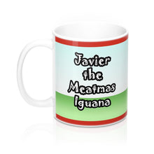 Load image into Gallery viewer, Javier The Meatmas Iguana Mug
