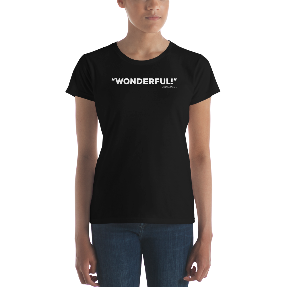 Ladies Wonderful! Hot Dogs, Horseshoes & Hand Grenades Shirt