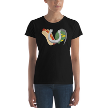 Load image into Gallery viewer, Ladies Hot Dogs, Horseshoes & Hand Grenades Logo T-Shirt