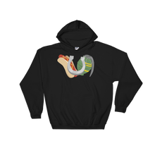 Load image into Gallery viewer, Hot Dogs, Horseshoes & Hand Grenades Logo Hoodie