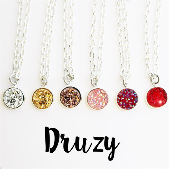 Druzy Necklaces - Krafty Chix
