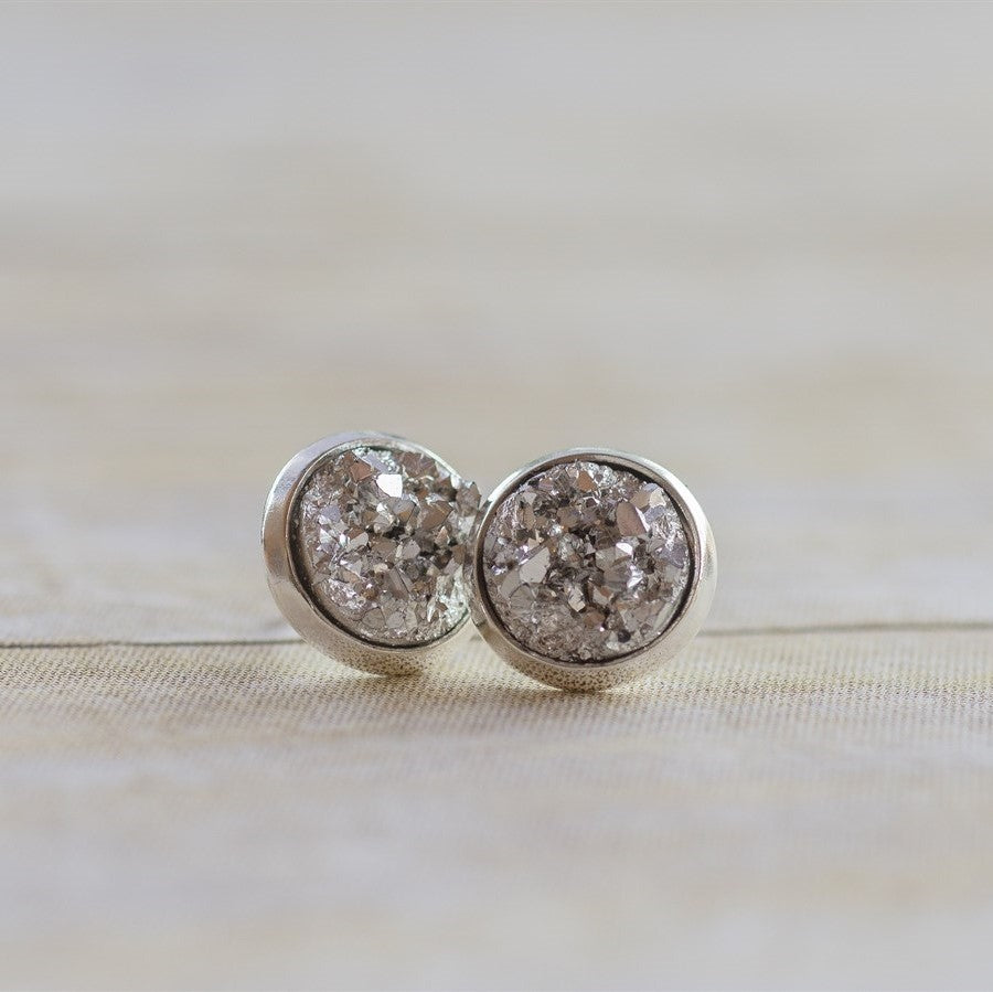 Dreaming of Druzy Earrings - Krafty Chix New