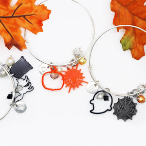 Mix & Match Halloween Bangles - Krafty Chix