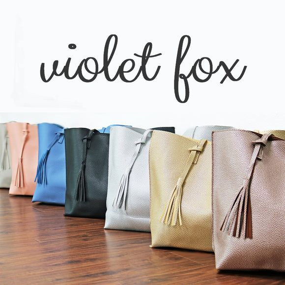 Tassel Totes | 7 Colors