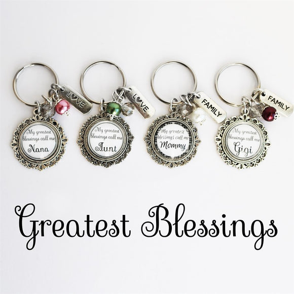 Blessings Keychain