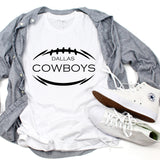 Custom Football Tees