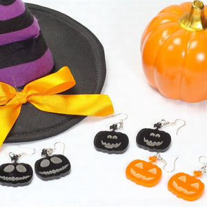 Handmade Halloween Earrings - Krafty Chix