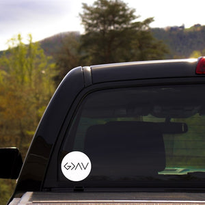 God is Greater Than the Highs and Lows Decal - Krafty Chix