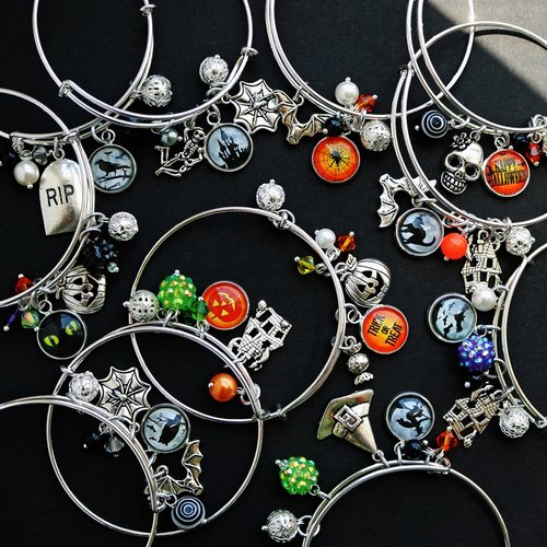 Halloween Bangle - Krafty Chix New