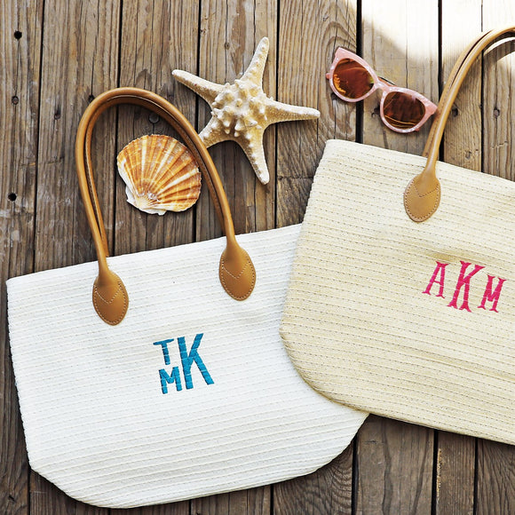 Spring and Summer Straw Totes