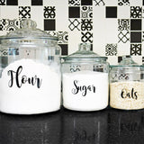 Pantry Labels | Set of 3 - Krafty Chix