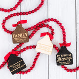 Cow Ear Tag Personalized Ornament