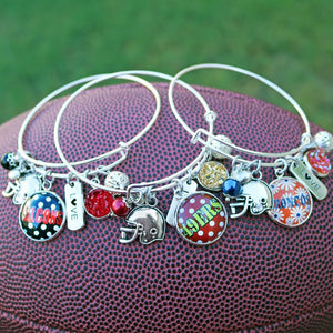 Football Game Day Bangle - Krafty Chix