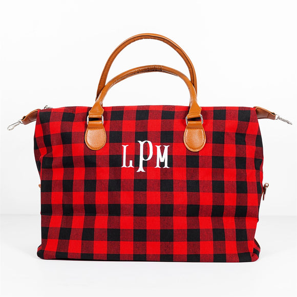 Monogram Buffalo Travel Bag - Tote 2 Colors