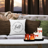 Fall Print Pillow Covers | 18x18 - Krafty Chix