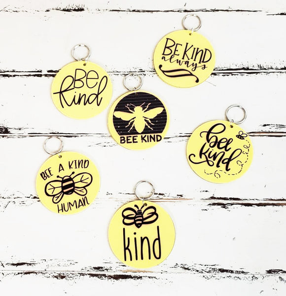 Bee Kind Key Chains