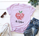 Personalized Teacher Shirts - VioletFox