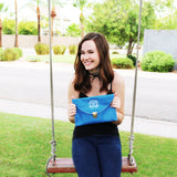 Monogram Clutch - Krafty Chix