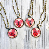 Valentine Initial Necklace