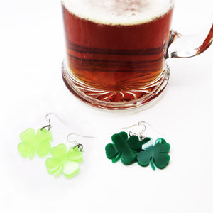 St. Patrick's Day Earrings - VioletFox