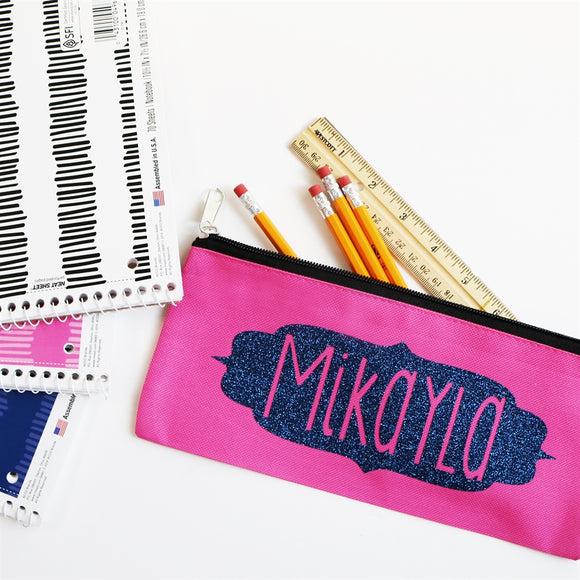 Personalized Pencil Pouches | Back to School - VioletFox