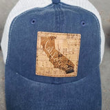 Cork Patch State Trucker Hats