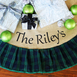 Personalized Tree Skirts - VioletFox