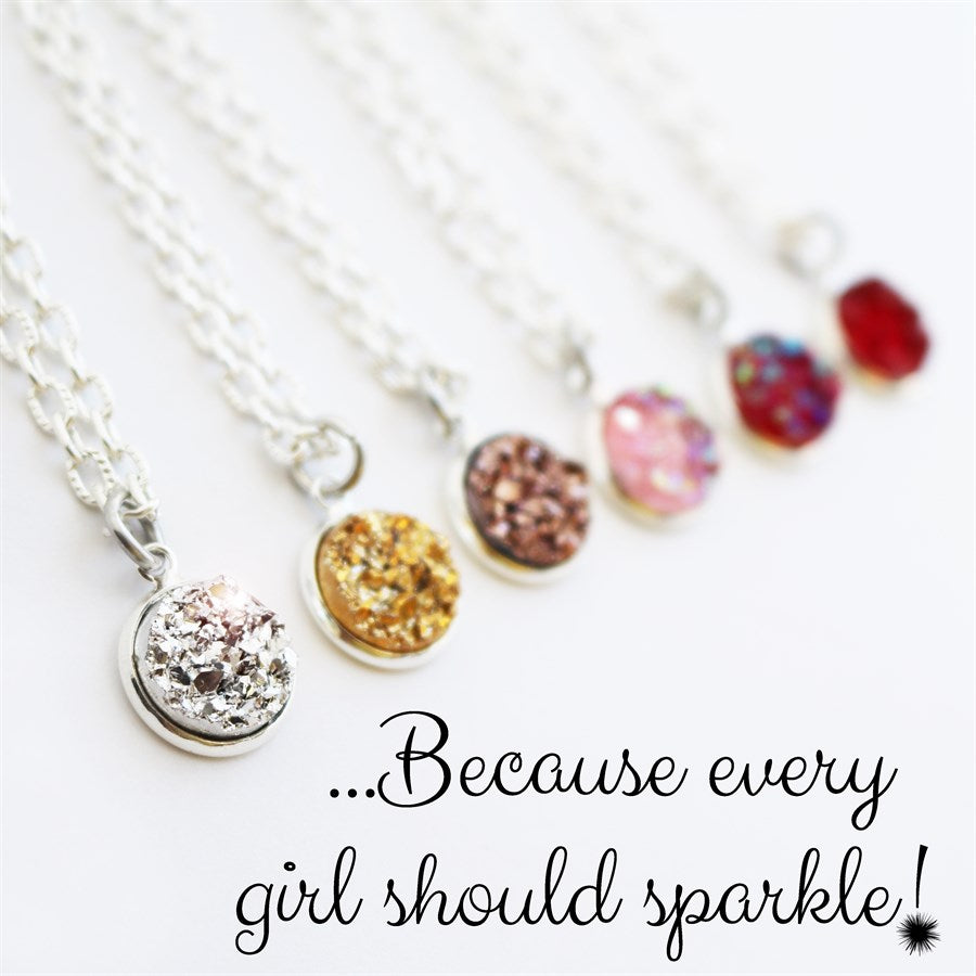 Druzy Necklaces - Krafty Chix New