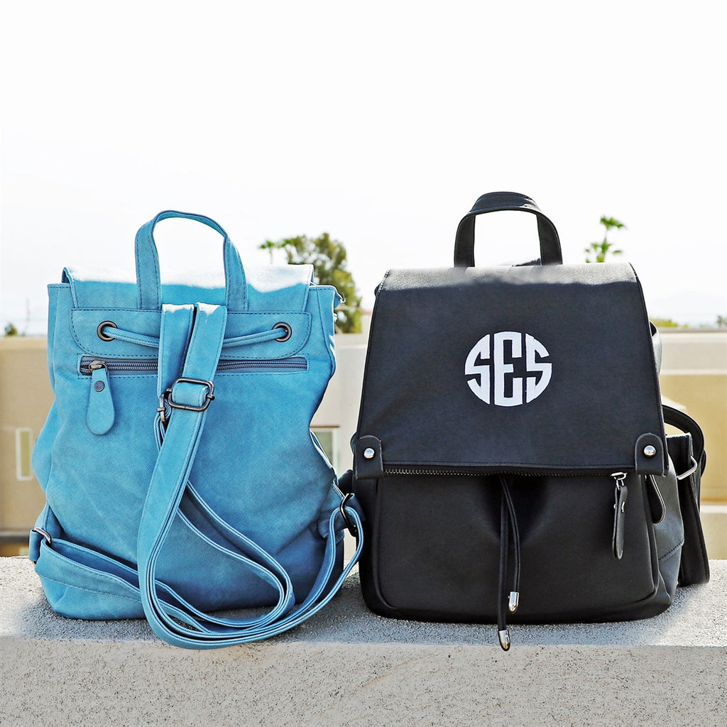 Monogrammed Raena Backpack - Krafty Chix New