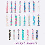 Candy & Flowers Personalized Apple Silicone Watch Bands