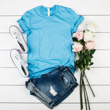 Boyfriend Fit Short Sleeve Tee