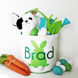 Personalized Bunny Tail Easter Bucket - VioletFox