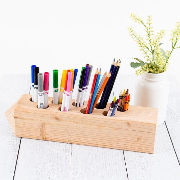 DIY Pencil Holder Sign