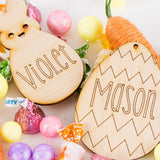DIY Easter Name Tags | Set of 2