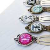Initial or Monogram Victorian Bookmark