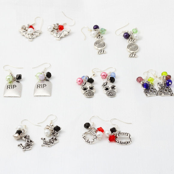 Halloween Charm Earrings