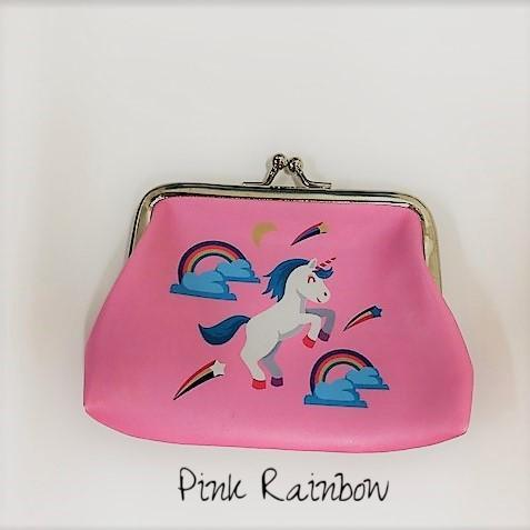 Unicorn Print Coin Purses | Clearance