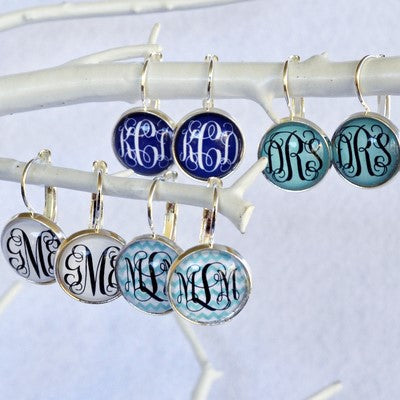 VF's BEST SELLING Monogram Earrings