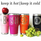 Personalized Laser Engraved 30 oz. Hot or Cold Tumbler