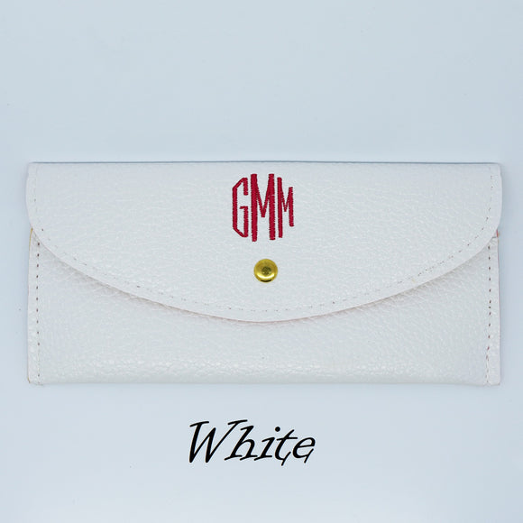 Monogrammed Wallet - CLEARANCE
