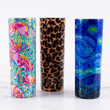 20 Oz Color Fade & Printed Tall Tumblers