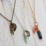 Peas in a Pod Necklace -Family Necklace