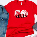 Go Basketball Team Game Day Tees