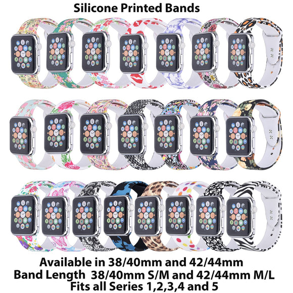 Printed Apple Watch Bands