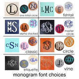 Monogrammed Wallet - Clearance Blowout!